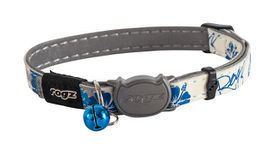 Rogz - GlowCat 8mm Glow-in-the-Dark Collar - Blue