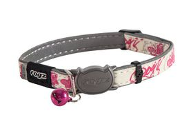 Rogz - GlowCat 8mm Glow-in-the-Dark Collar - Pink