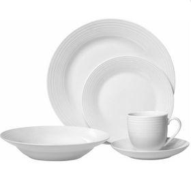 Regent Nordic - Dinner Set - White - 20 Piece