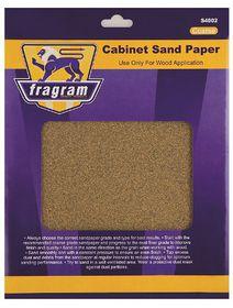 Fragram - Sand Paper 60 Grit Cabinet Coarse - 4 Piece