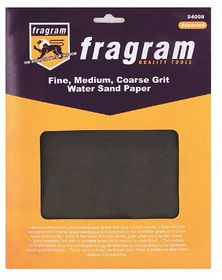 Fragram - Sand Paper Cabinet Assorted - 4 Piece