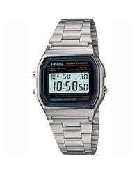 34d70a54d0876 Casio Mens A158WA-1Q Retro Digital Watch