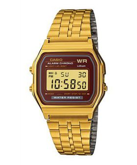 Casio Mens A159WGEA-5D Retro Digital Watch