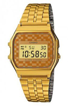 Casio Mens A159WGEA-9ADF Retro Digital Watch