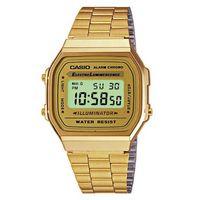 Casio Mens A168WG-9WDF Illuminator Quartz Retro Digital Watch
