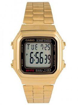 Casio Ladies A178WGA-1ADF Digital Dual Time Watch