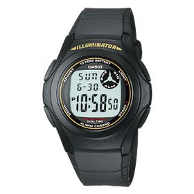 Casio Mens F200W-9AUDF Illuminator Digital Watch