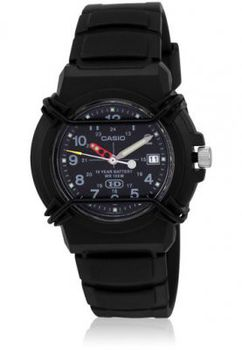 Casio Mens HDA-600B-1BVDF Analogue Watch