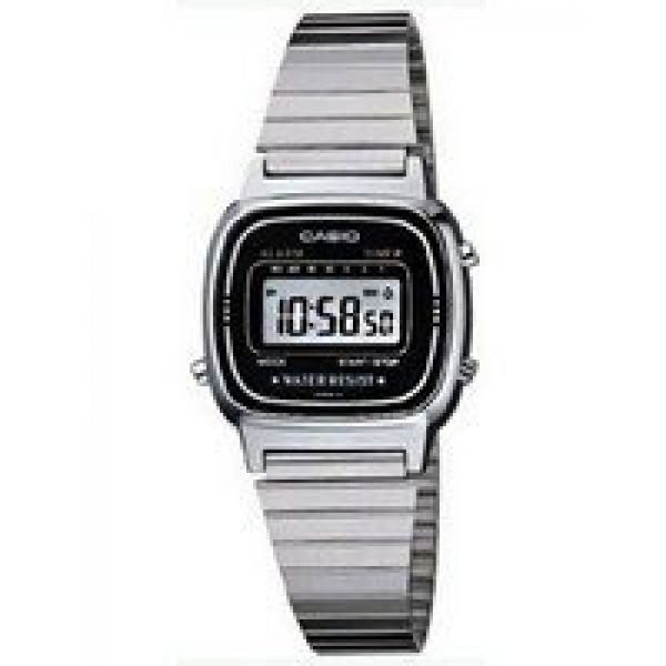 Casio Ladies LA670WA-1DF Retro Digital Watch