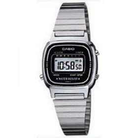 Casio Ladies LA670WA-1DF Retro Digital Watch