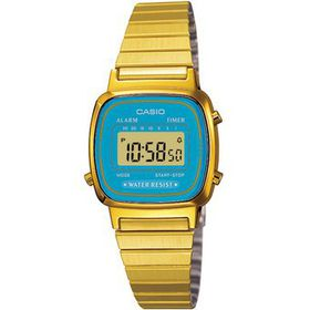 Casio Ladies LA670WGA-2DF Retro Digital Watch