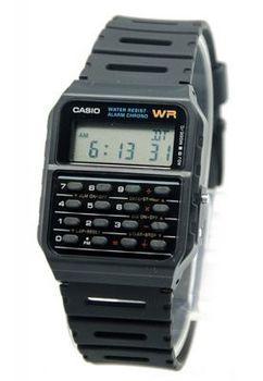 Casio Mens CA53W-1Z Digital Calculator Watch