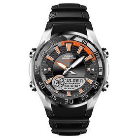 Casio Mens AMW-710-1AVDF Marine Gear Moon Tide Anidigital Watch