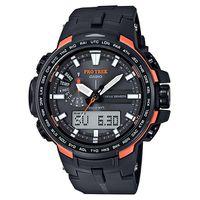Casio Mens PRW-6100Y-1DR Protrek Triple Sensor Anadigital Watch