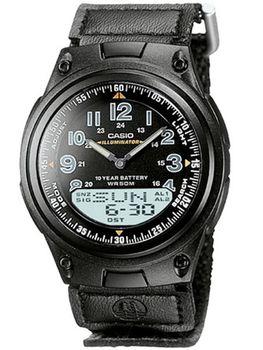 Casio Mens AW-80V-1BVDF Youth Series Anadigital Watch