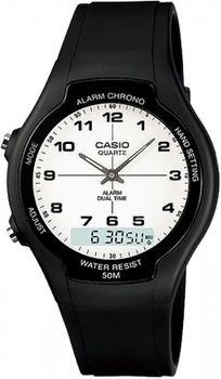 Casio Mens AW-90H-7BVDF Anadigital Watch