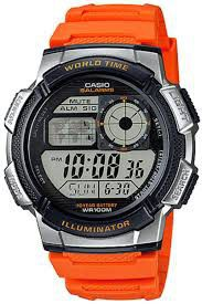 Casio Mens AE-1000W-4BVDF World Time Sports Digital Watch