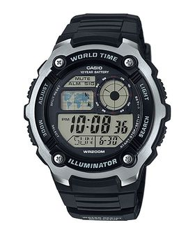 Casio Mens AE-2100W-1AVDF World Time Digital Watch