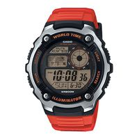 Casio Mens AE-2100W-4AVDF World Time Digital Watch