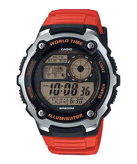 Casio Mens AE-2100W-4AVDF World Time Digital Watch