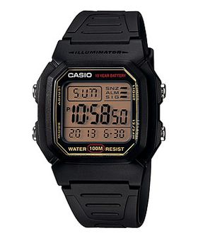 Casio Mens W-800HG-9AVDF Dual Time Digital Watch