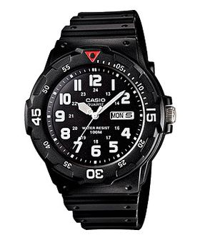 Casio Mens MRW-200H-1BVDF Analogue Watch