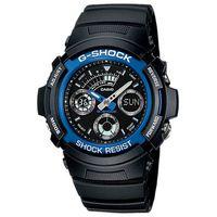 Casio Mens AW-591-2ADR G-Shock World Time Anadigital Watch