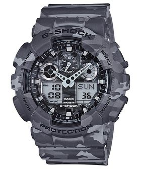 Casio Mens GA-100CM-8ADR G-Shock Camo Series Anadigital Watch