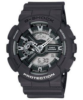 Casio Mens GA-110C-1ADR G-Shock Anadigital Watch