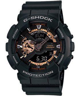Casio Mens GA-110RG-1ADR G-Shock Anadigital Watch