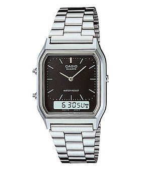 Casio Mens AQ230A-1DMQ Anadigital Watch
