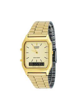 Casio Mens AQ230GA-9BM Anadigital Watch