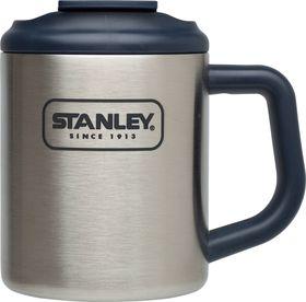 Stanley - Adventure 354ml Camp Mug - Brushed Stainless Steel