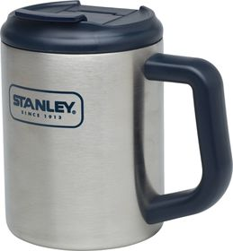Stanley - Adventure 473ml Camp Mug - Brushed Stainless Steel
