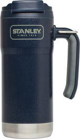 Stanley - Adventure 473ml Vacuum Travel Mug - Hammertone Blue