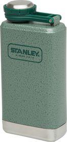 Stanley - Adventure 148ml Pocket Flask - Green & Steel