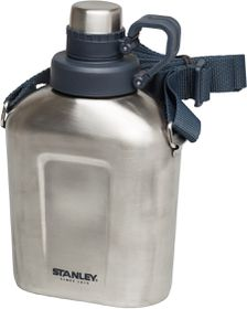 Stanley - Adventure 1 Litre Canteen - Polished Stainless Steel