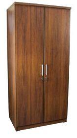 Wildberry - 2 Door Hanging Wardrobe - Cherry