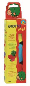 Giotto Be-Be Super Modelling Dough - 3x 100g Pack (Yellow, Light Blue,Red)