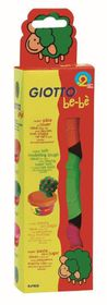 Giotto Be-Be Super Modelling Dough - 3x 100g Pack (Orange, Light Green, Pink)