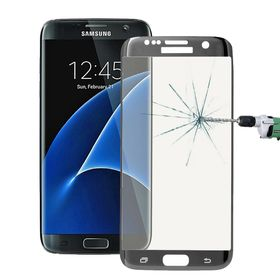 Tuff-Luv Tempered Curved Glass Protection (Full Size) – Silver