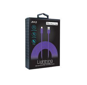 Jivo Lightning to USB Cable  3 Meters  X-LONG - Purple (MFI)