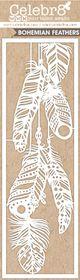 Celebr8 Matt Board Lanki - Bohemian Feathers (Co-ordinates with Boho Dreams)