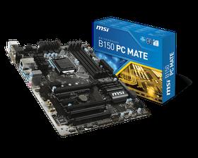 MSI Intel B150 PC Mate Mainboard - Socket LGA1151