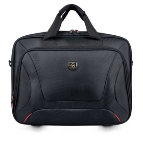 "Port Courchevel Top Loading Laptop Bag 15.6"" - Black"
