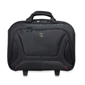 "Port Courchevel Trolley/Roller Bag  15.6""- Black"