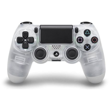 PS4 DUALSHOCK 4 Controller - CRYSTAL (PS4)