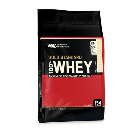 Optimum Nutrition Gold Standard 100% Whey 4 54kg - Vanilla Ice Cream