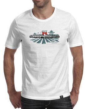 StoneDeff - GTR History Mens Short Sleeve T-Shirt - White