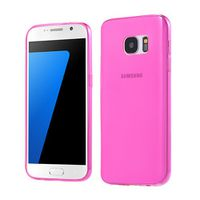 Ultra-Thin TPU Case Cover Samsung Galaxy S7 - Pink